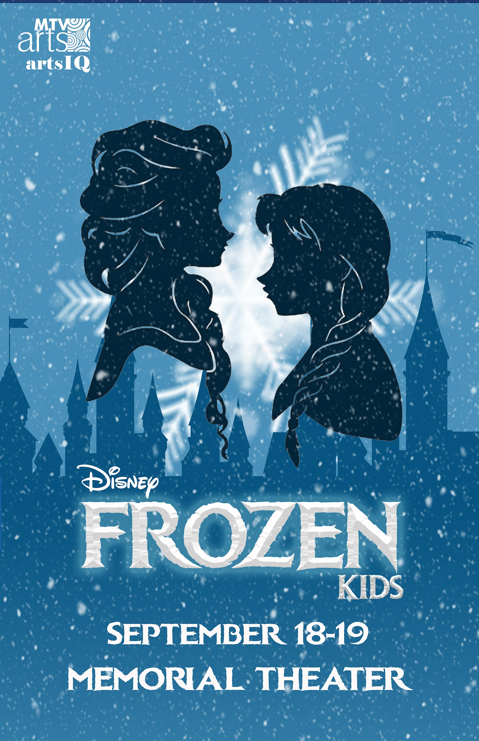 Frozen Kids Poster Small
