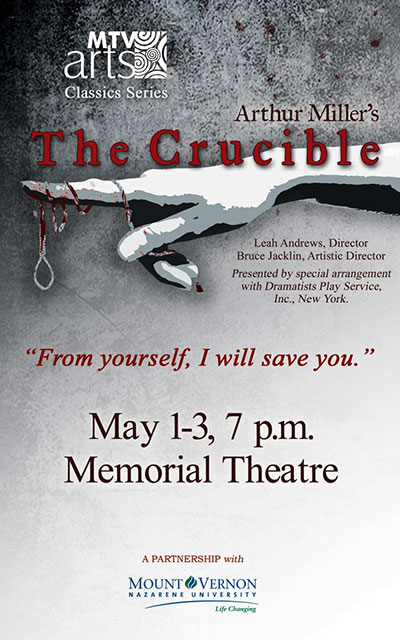Crucible playbill 2014