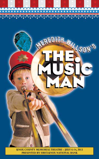 music man playbill 1